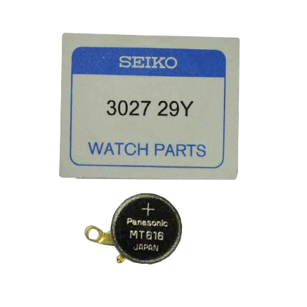 Seiko 3027-29Y Capacitor in our DIY Kit with tools