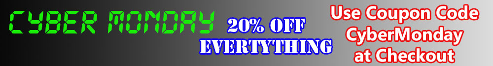 Cyber Monay 20% Off