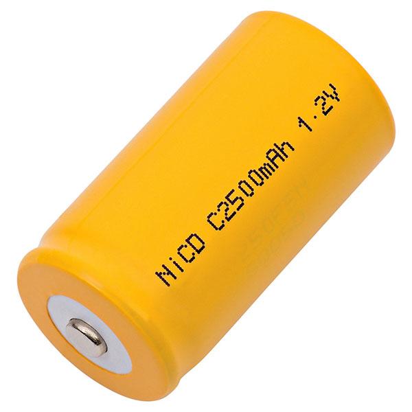 Panasonic P-220C Replacement Battery C Cell NiCD C-2500
