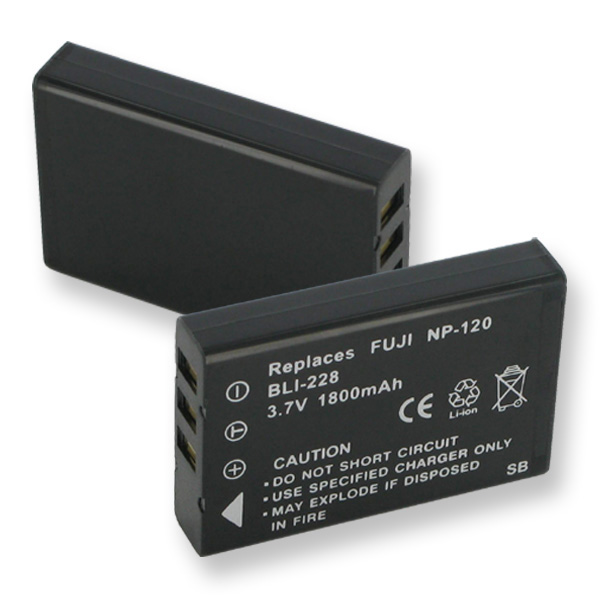 SDNP120 Li-Ion Battery - Rechargeable Ultra High Capacity
