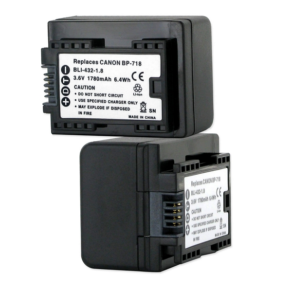 Replacement For Canon Legria Hf R36 Camcorder Battery By Technical Precision