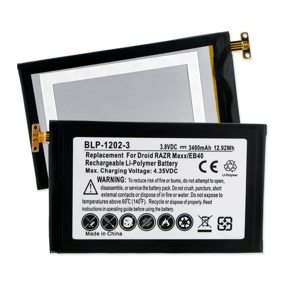 Motorola Droid RAZR MAXX Cellphone Replacement Battery BLP ...