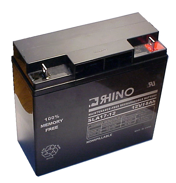 toyo sla17 12 sealed lead acid battery 12v 18ah ups. Black Bedroom Furniture Sets. Home Design Ideas