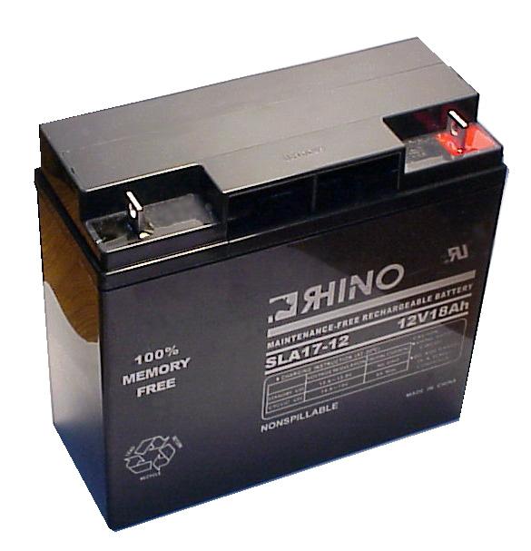 Clary CLA7026 Replacement Rhino Battery