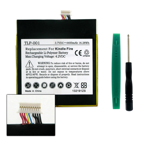 Amazon Kindle Fire D01400 Tablet Replacement Battery Tlp 001