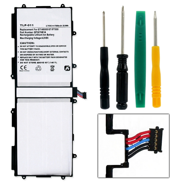 samsung galaxy tab replacement battery w  tools tlp