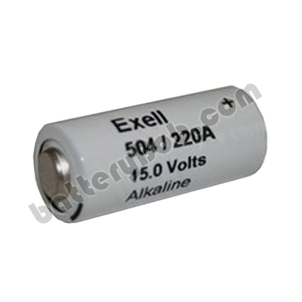 Excell M504 15 volts NEDA 220 Single Battery replaces Eveready M504
