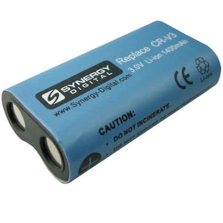 Rechargeable Battery CR-V3 - Lithium-Ion - 1400 mAh - 3.0 volts - CRV3 - CR-V3 - SDCRV3
