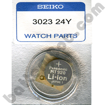 Genuine Seiko Capacitor 302324Y FREE Anti-Static Tweezer Single Capacitor MT920 Type