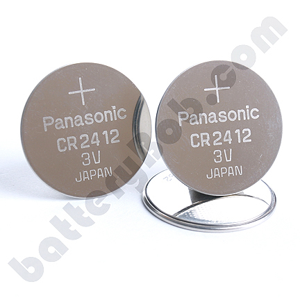 panasonic cr2412 lithium 3 volt coin cell battery comp274 pana loading zoom