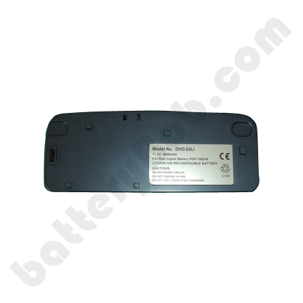A DVD Battery Concept 11.1 Volts 4000 mAh LION DVD-23LI.