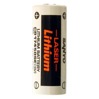 A Lithium Cylindrical Cell Battery for FUJI  CR8-L   - 3 Volt 2500 mAh  - LITH-12