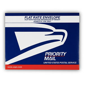 Priority Mail USPS Flat Rate Envelope $4.80