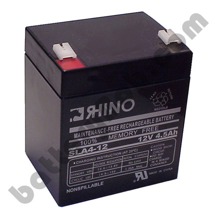 SLA4-12 Toyo Alarm, Medical or UPS Replacement Battery 12 volt 4.5 Ah