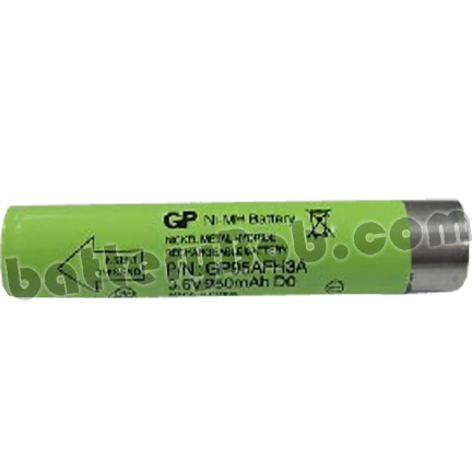 An Interplak Model 12207 Tooth Brush Replacement Battery - 3.6 V 1000 mAh - CUSTOM-23