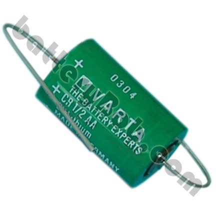 A Replacement  Varta CR 1/2AA-CD  3V Lithium Cylindrical  Battery - 950 mAh - COMP-7-5 VARTA