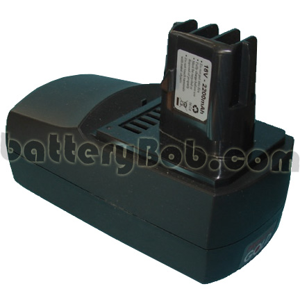 A POWER TOOL BATTERY FOR  METABO BSZ18 IMPULS / ULA9.6-18  18 V 2200mAH -TOOL- 239