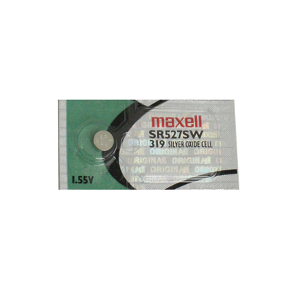 MAXELL 319 SR527SW - 1 Battery Official OEM Replacement