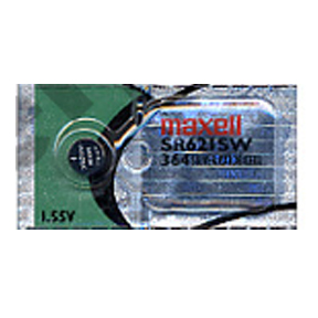 MAXELL 364 SR621SW - 1 Battery Official OEM