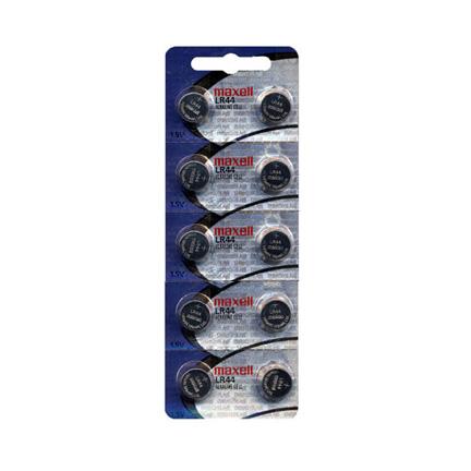 Maxell AG13 10 Batteries - LR44 - Watch Batteries - AA AAA