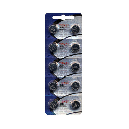 Maxell L1154 10 Fresh Batteries Lr44 Watch Batteries Aa Aaa